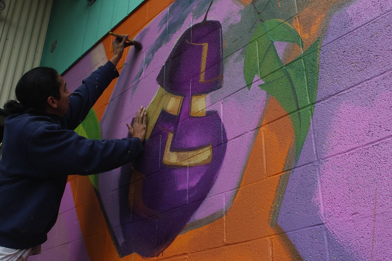 JSMA participates in the 20×21 EUG Mural Project
