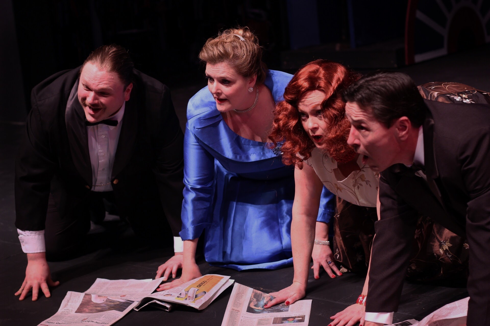 """""""Curtains,"""" a good old-fashioned musical comedy whodunit takes the stage at the Cottage Theatre from April 7-30"""