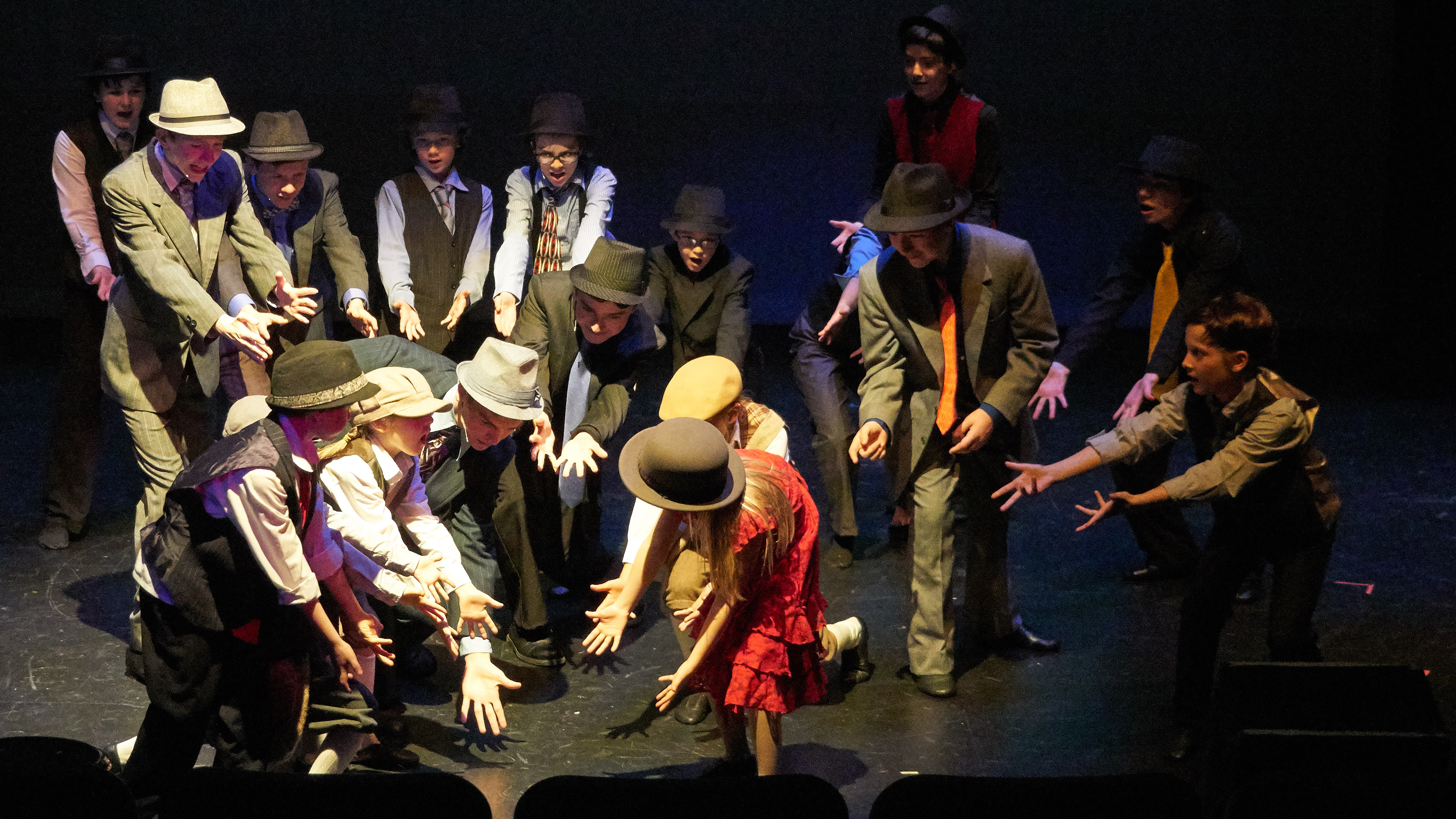 """Youthful actors take on one of the most popular musicals ever, as the Rose Childrens Theatre does """"Guys and Dolls"""""""