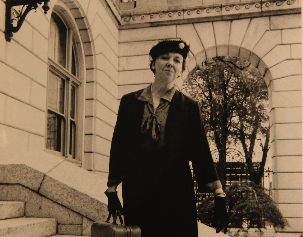 Meet Eleanor Roosevelt, as portrayed in a one-woman show by actress Jane Van Boskirk