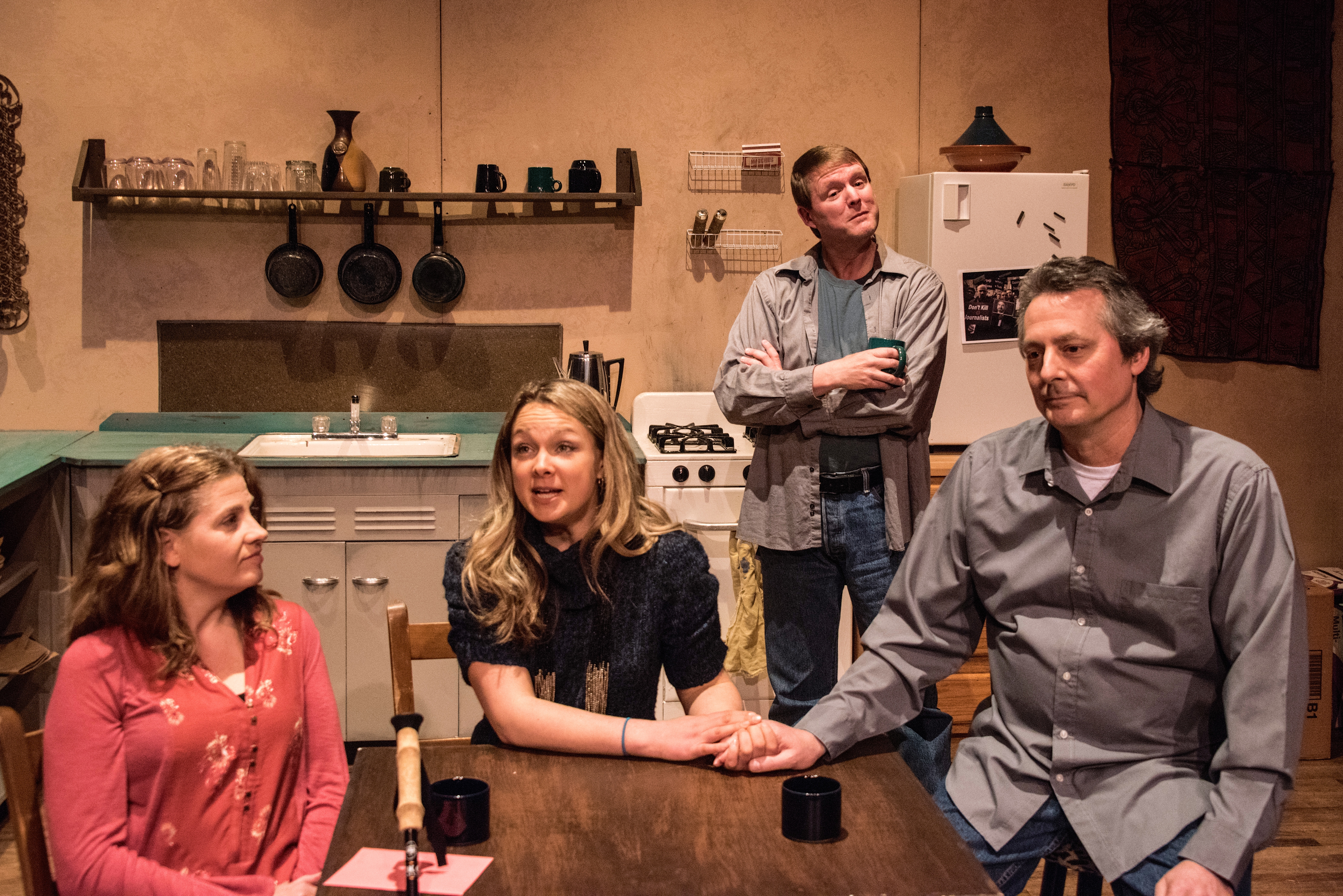 "The Very Little Theatre adds one more show to its production of ""Time Stands Still"" in its Stage Left performance space"