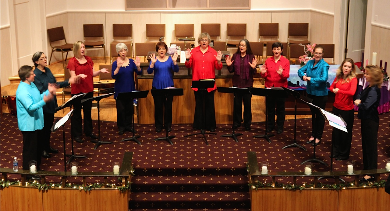 It's time again for the Motet Singers — a group of women performing a cappella — to harmonize at their annual spring recital