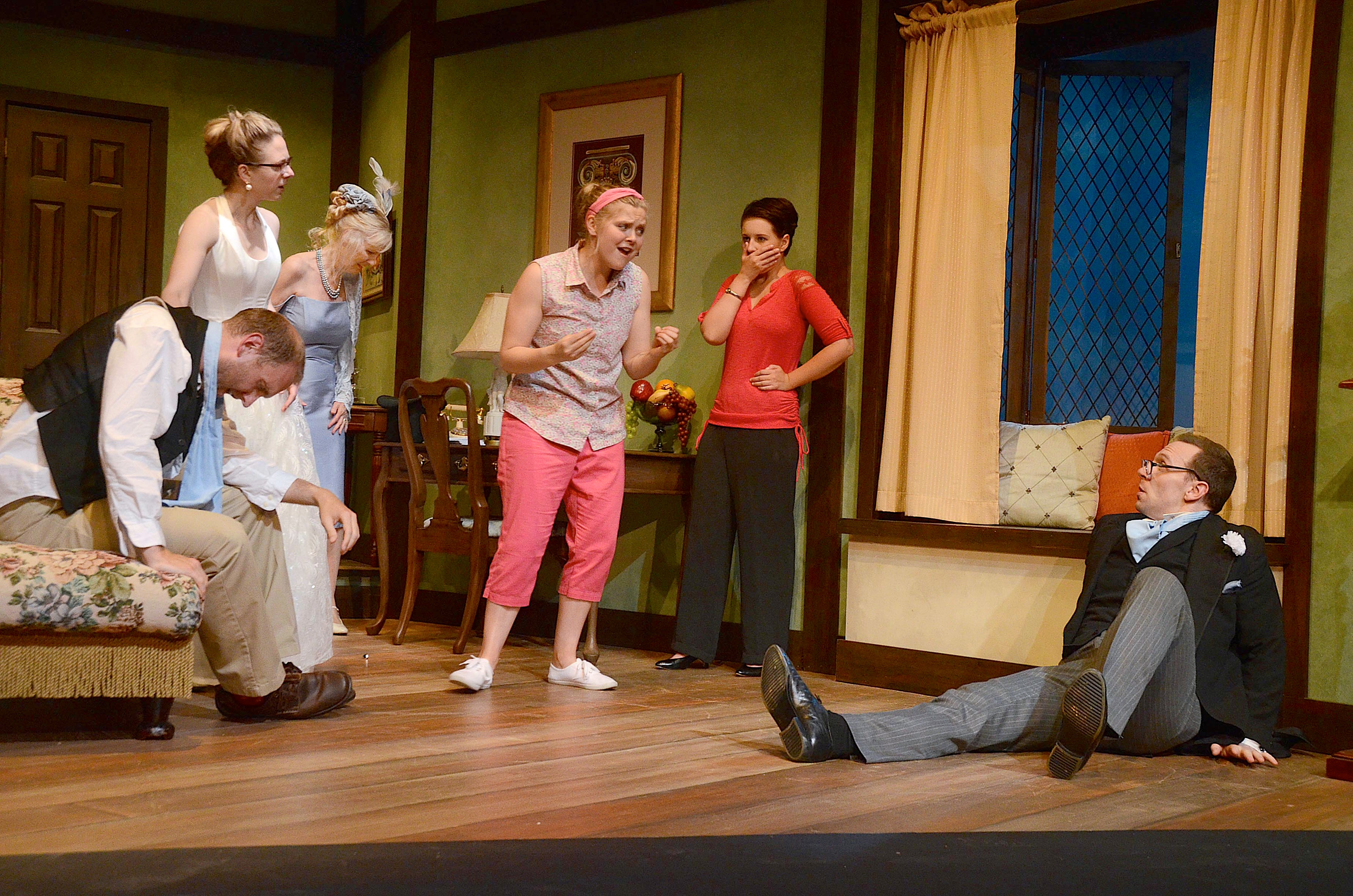 Perfect wedding? Of course not, when it's a fast-paced British farce onstage at the VLT