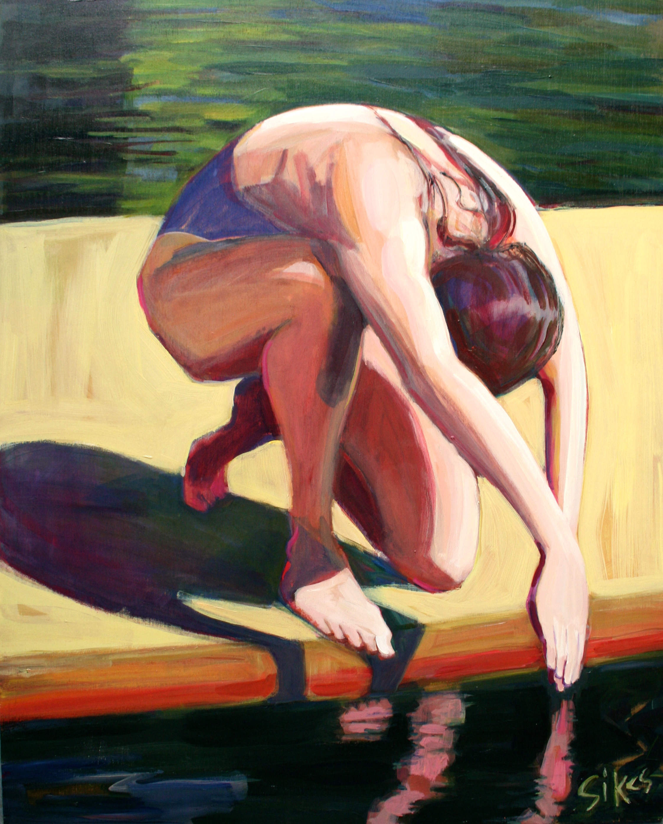 """Feeling hot this summer? """"Bathers and Boats,"""" a new show at the Maude Kerns Art Center, will help to cool you off"""