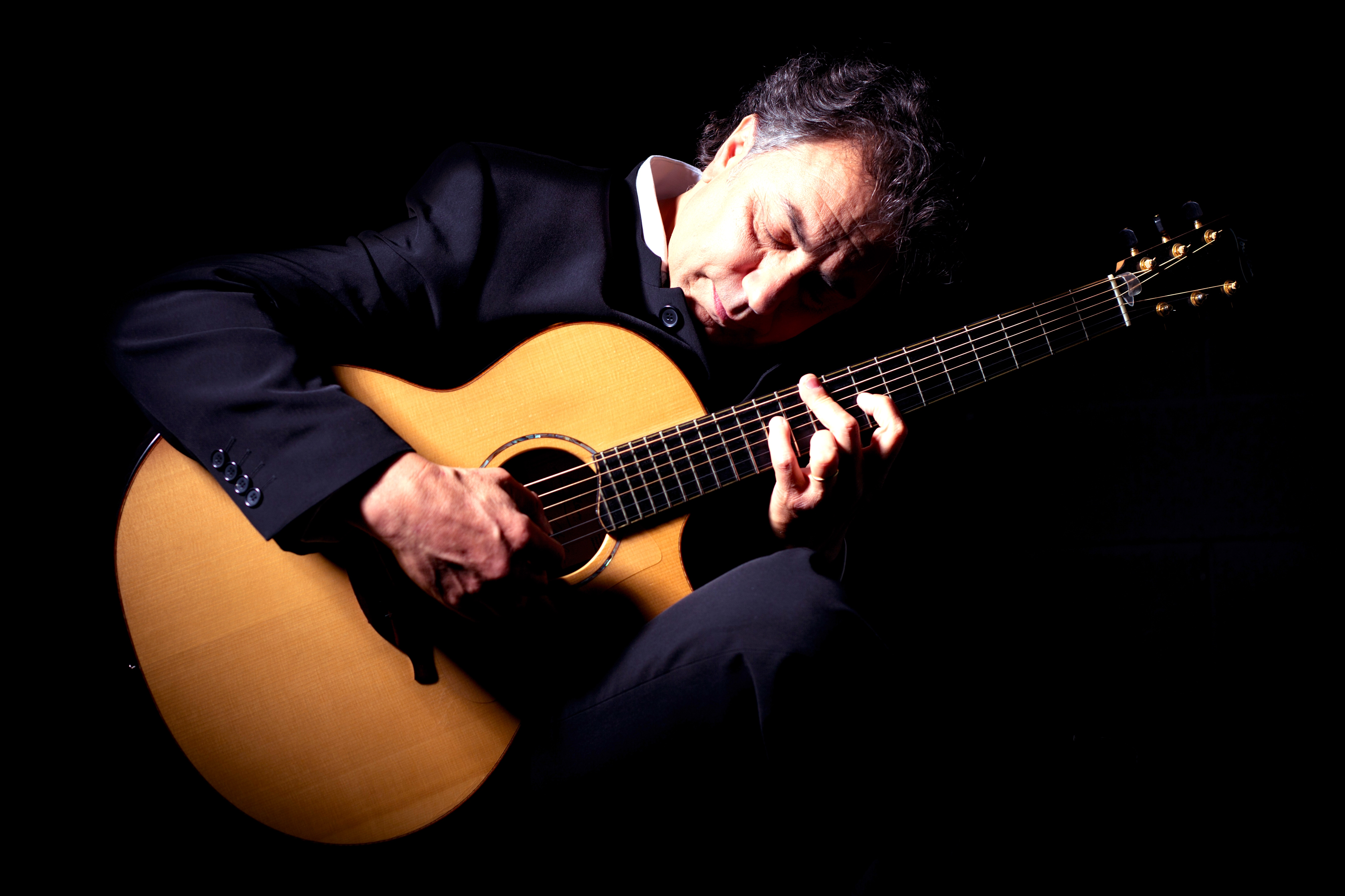 The Axe and Fiddle presents master acoustic guitar player Pierre Bensusan from France, passing through on his 2017 USA Tour