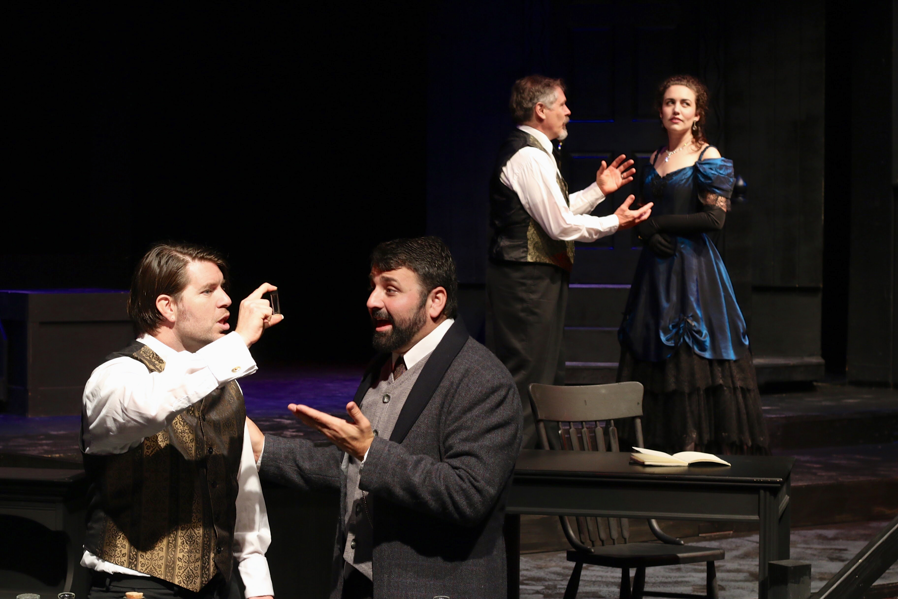 """Cottage Grove Theatre overcomes obstacle to innovative casting of title roles in its production of """"Jekyll & Hyde"""""""