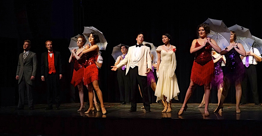 """Singin' in the Rain,"" one of the most beloved musicals of all time, pours out all its charms at The Shedd"
