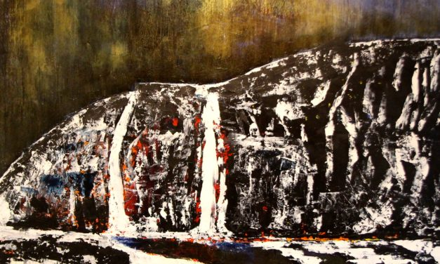 Paintings of Iceland dominate exhibit of Robert Canaga works now on display at Vistra Framing & Gallery