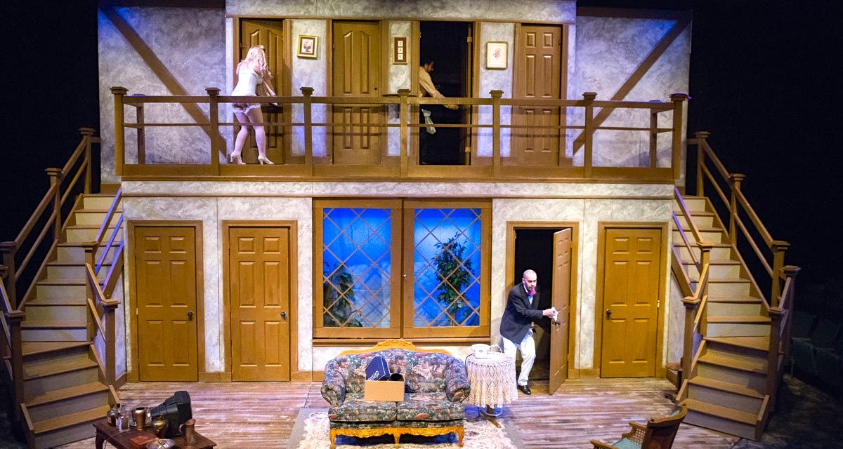 """Cottage Theatre presents """"Noises Office,"""" touted by some as the funniest farce ever"""