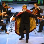 """It's """"Murder and Madness"""" when the Delgani String Quartet teams up with master storyteller Rickie Birran for a concert on April 21"""