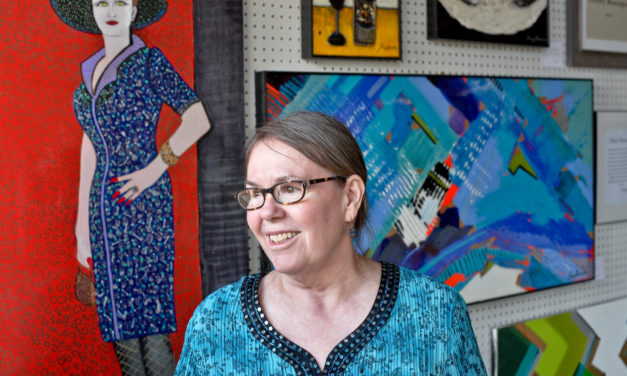 """Something new in Harrisburg: Artist Shelley Roenspie  opens """"The Gallery,"""" where she shows art and teaches classes"""
