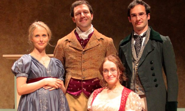 """Review: Nerds In Love — """"Miss Bennet"""" Lights Up The Holidays."""