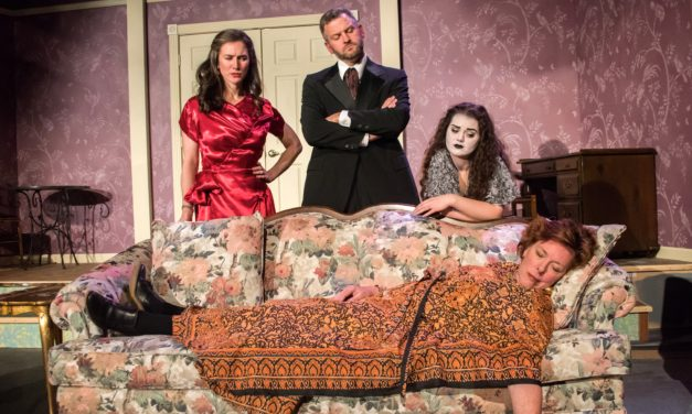 """Blithe Spirit"" — aka ""An Improbable Farce in Three Acts"" — comes to the VLT"